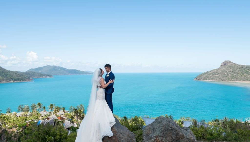 Meg Andy Hamilton Island Wedding